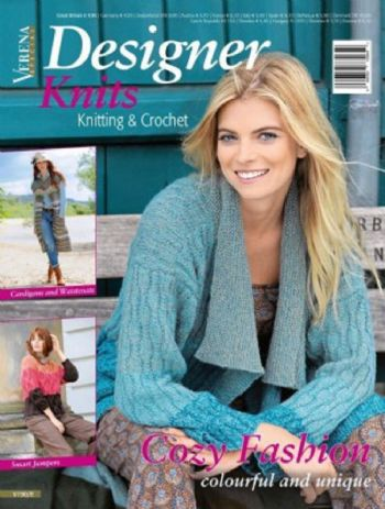 Designer Knits Magazine for designer yarns including Noro and Debbie Bliss
